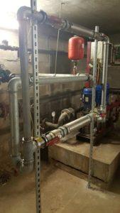 Anti calcaire professionnel pour réseau d'eau collectif EFG, ECS