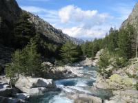 Région corse départements zones eau Calcaire