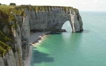 Région normandie départements zones eau Calcaire en France