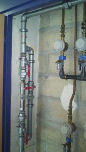 Réacteur anti calcaire pour canalisation d'eau sanitaire collectif habitat collectif